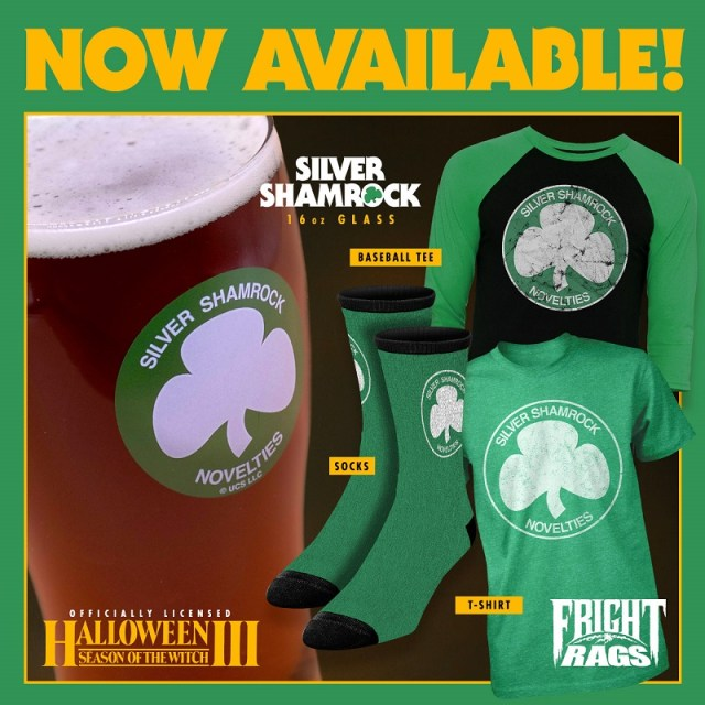 [News] Fright-Rags Celebrates St. Patrick's Day with HALLOWEEN III