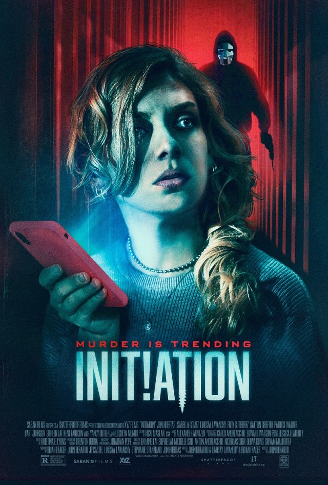 [News] INITIATION - Murder is Trending in Latest Trailer from Saban Films