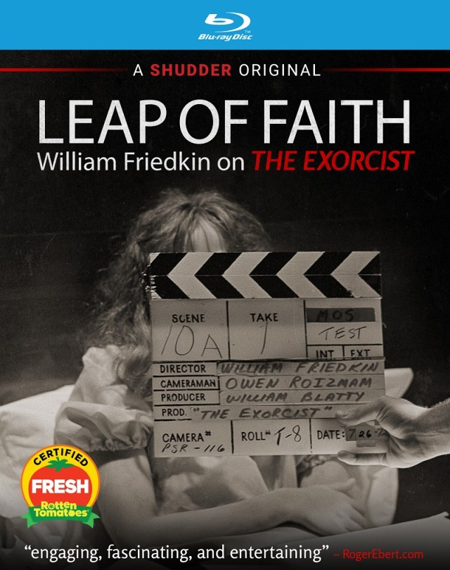 [News] LEAP OF FAITH: WILLIAM FRIEDKIN ON THE EXORCIST Arrives on VOD & Blu-ray April 13