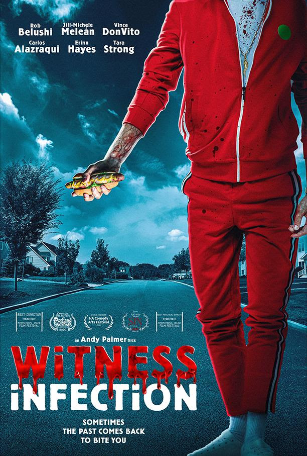 [News] Zombie Comedy WITNESS INFECTION Spreads to VOD March 30