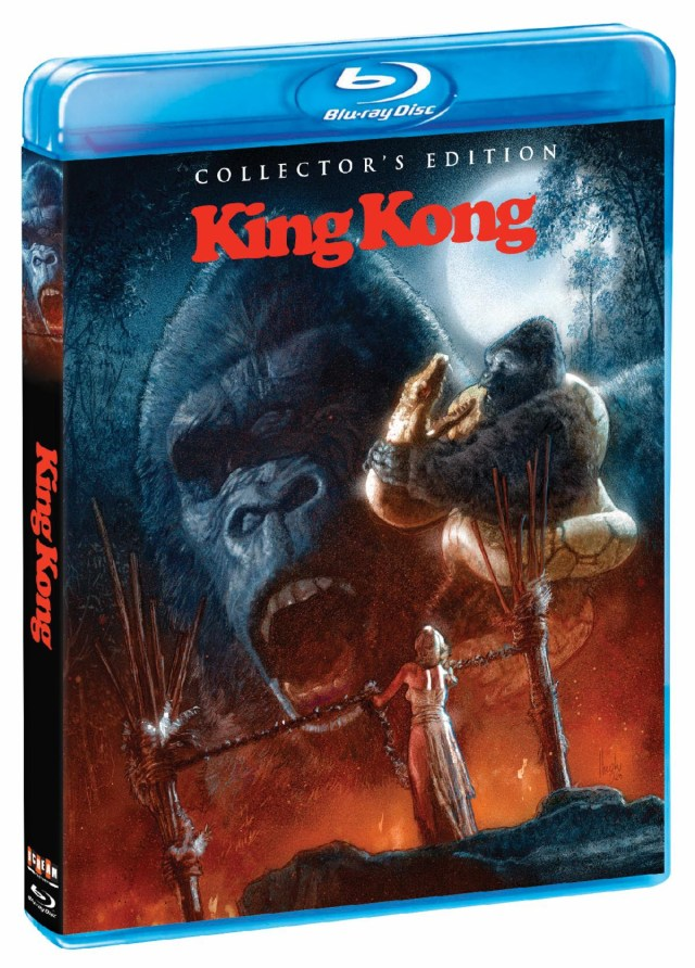 [News] Scream Factory Presents KING KONG (1976) COLLECTOR'S EDITION on Blu-ray May 11
