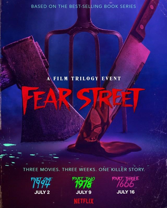 [News] FEAR STREET TRILOGY Announces Release Dates, Revealing Epic Summer Event