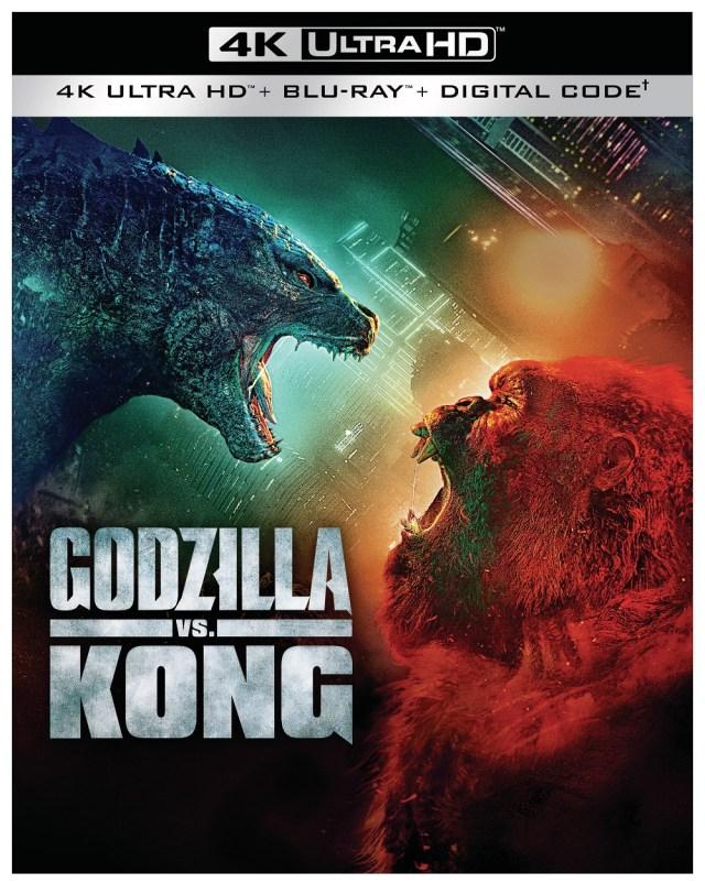 [News] GODZILLA VS. KONG 4K, Blu-ray Combo Pack & DVD Arrives on June 15