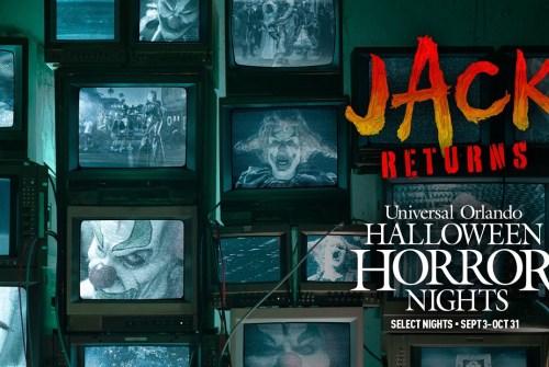 [News] Jack The Clown Returns to Universal Orlando's Halloween Horror Nights