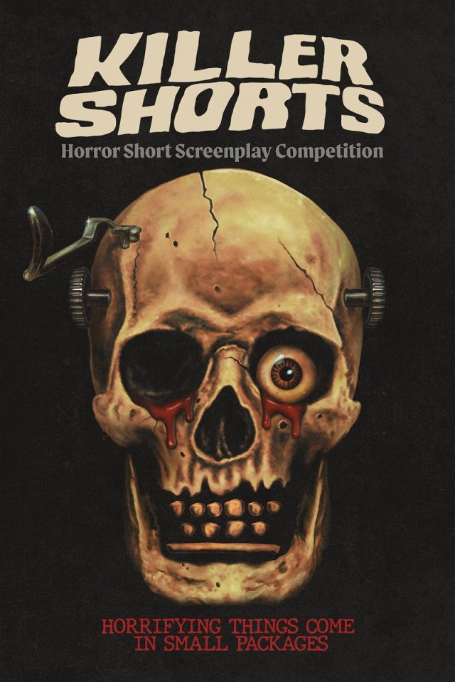 [News] The Third Annual KILLER SHORTS Horror Short Screenplay Competition Accepting Entries