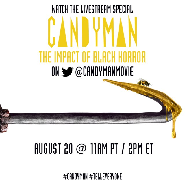 [News] Join CANDYMAN: THE IMPACT OF BLACK HORROR Discussion Today on Twitte