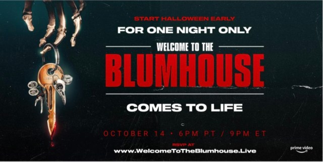 [News] Amazon Prime Video Presents WELCOME TO THE BLUMHOUSE LIVE