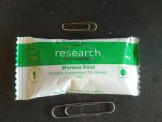 Package of the nutrition supplement given in the study.