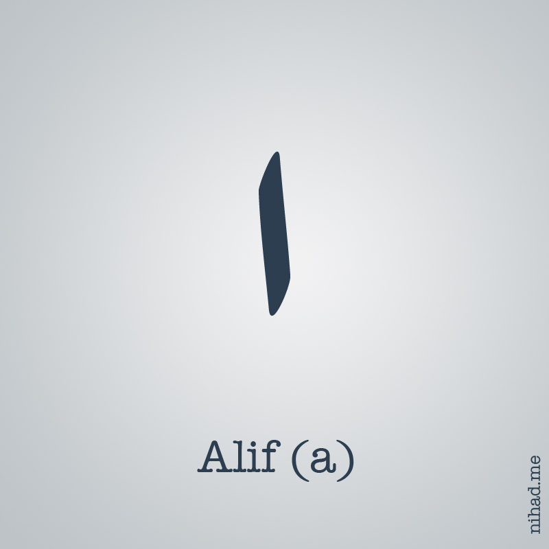 Arabic Alphabet Alef