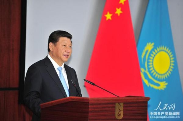 Chinese President Xi Jinping proposes to build a Silk Road ...