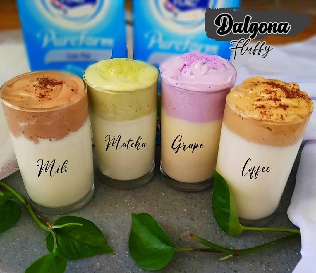 Trend Dalgona, Apa Saja yang Bisa Dibuat Minuman ala Dalgona ...