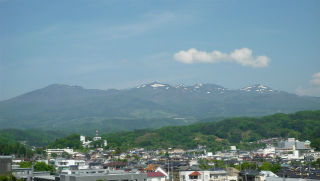 山開き当日の安達太良山の写真
