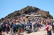 安達太良山山開き