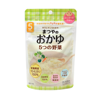 5-vegetable rice porridge