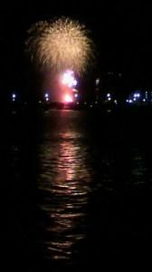 新潟祭りの花火