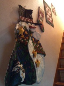 クリスマスの階段
