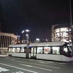 富山駅路面電車2