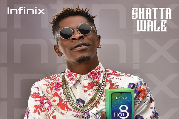 INFINIX AND SHATTA WALE JOIN HANDS TO ROCK GHANA