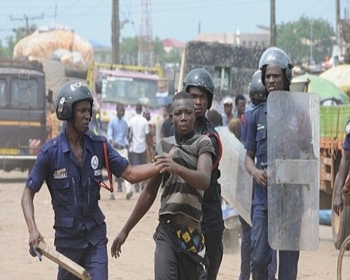 16 PERSONS ARRESTED AT KASOA FOR DEFYING LOCK DOWN