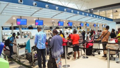 Photo of Ghanaian Man Arrested At Kotoka Intl Airport With Cocaine Tearfully Asks His Wife For Forgiveness