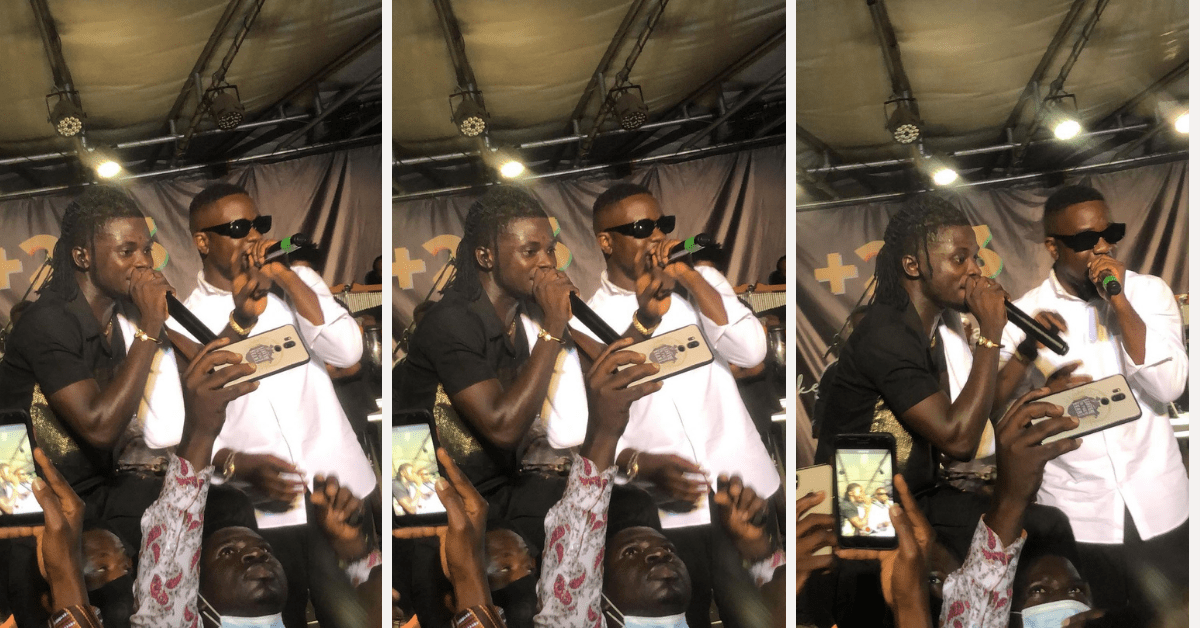 sarkodie performs happy day