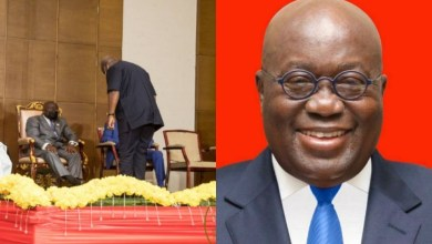 Photo of Mahama Shows Respect To Nana Addo By Bowing To Him When They Met At A Peace Pact Ceremony (Full Gist)