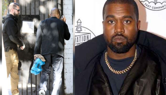 Kanye West seen in public for first time since dating rumours of Irina Shayk
