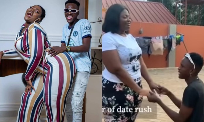 (VIDEO) I Promise To Love You More Than My Mother – Ali of date rush Says As he Proposes To Shemima