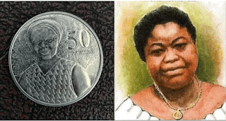 """History about the woman on the 50 pesewas coin in Ghana & how the """"Auntie Dedei"""" bus was named after her"""