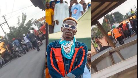 The constructor who was slapped by Nima thugs of Shatta Wale finally speaks
