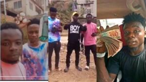 """""""We ain't criminals or armed robbers"""" – Guys in viral video brandishing guns clear air & rain curses on bloggers 