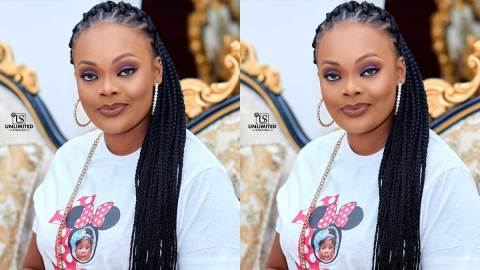 They will snatch him away – Actress Bernice Asare reveals why she never post her husband on social media   VIDEO
