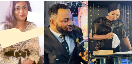 Wahala as pastor allegedly chases away his wife and marries his choir mistress