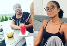 Photo of MzVee's Mom Hits Her Mini Studio To Drop Heavy Bars But Hilariously Got Sacked After The Verse Came Out As Hymn [Video]
