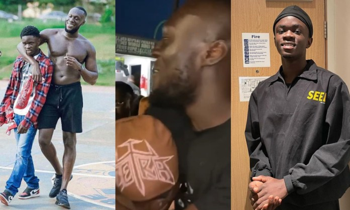 VIDEO: Yaw Tog And Stormzy End Their Beef As They Hug It Out In London