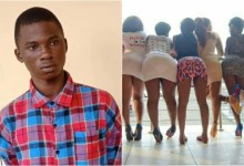 Photo of 18-yr-old boy kills a 28-yr-old prostitute for demanding ₵145.00 after sleeping with her
