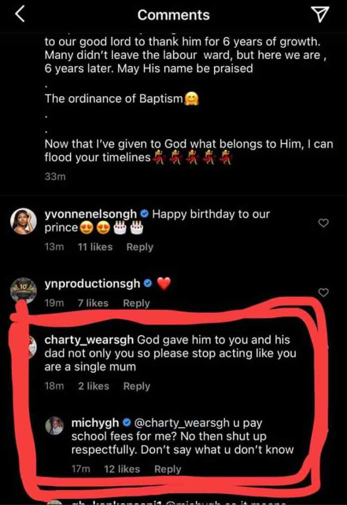 michy disgraces shatta wale claims that he doesnt pay their son majestys school fees 2