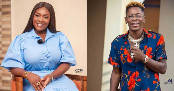 Come out and explain why you allowed Shatta Wale to chop you – Young lady tells Emelia Brobbey