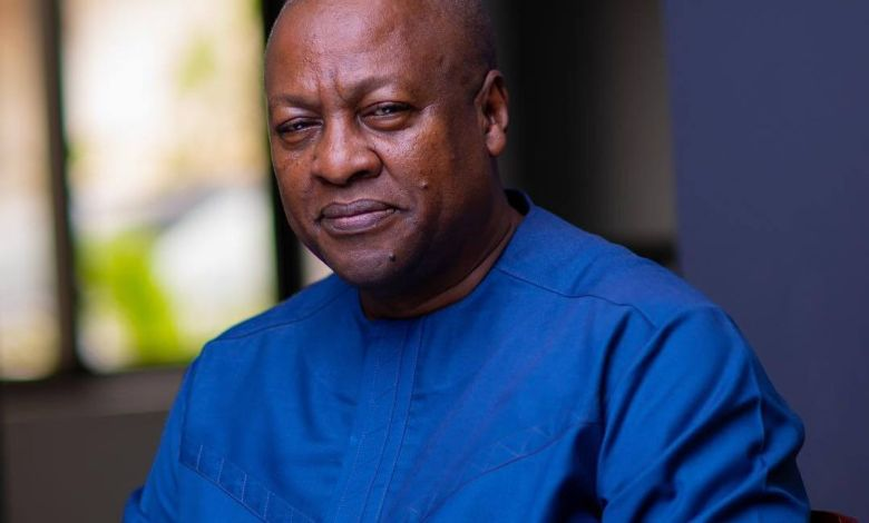 If you don't vote out the NPP in 2024, they 'chop' all the stolen money- John Dramani Mahama