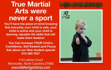 Niji No Hashi Dojo Martial Arts in Cary, Morrisville, North Carolina