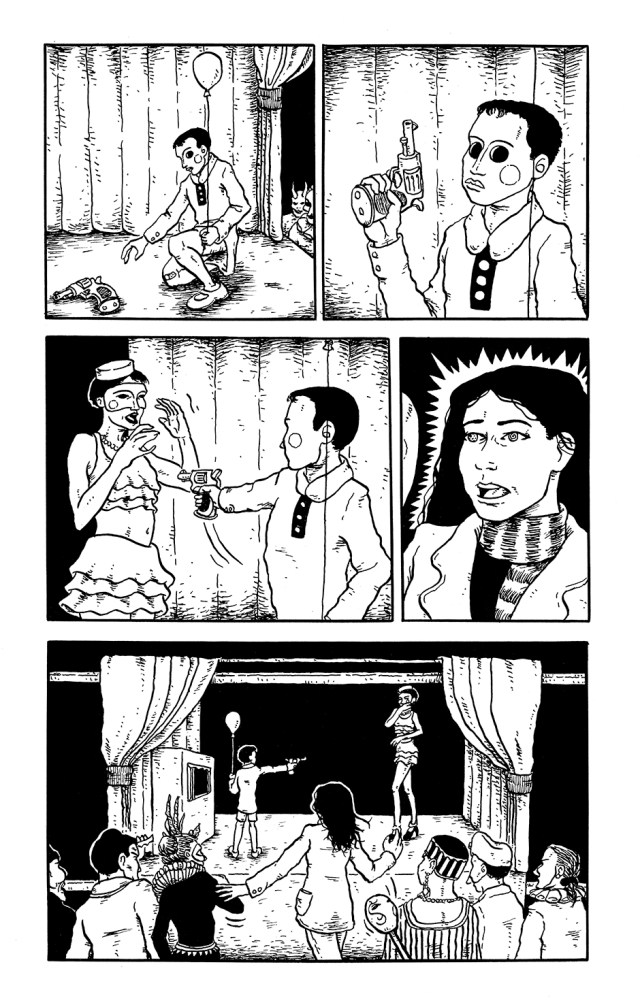 Page 10 of the comics story Kit Kaleidoscope Goes to the Masked Ball