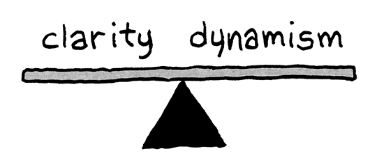 clarity and dynamism