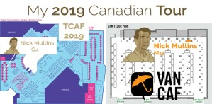 TCAF and VanCAF: My 2019 Canadian Tour