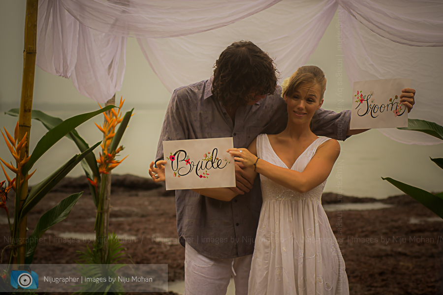 Luke and Sanne in Goa for Destination Wedding workshop
