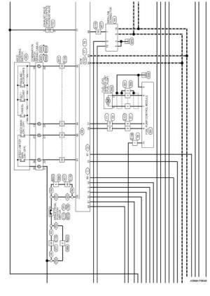 Wiring diagram  Engine Control System HR16DE  Nissan