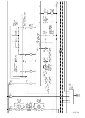 Wiring diagram  Engine Control System K9K  Nissan Juke Service and Repair Manual: