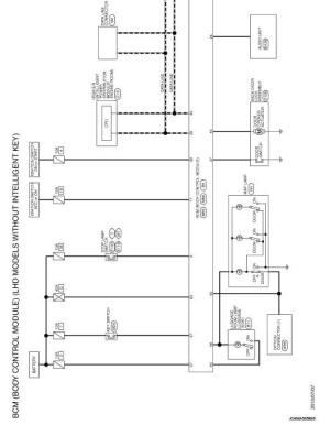BCM  Wiring diagram  Body Control System Without