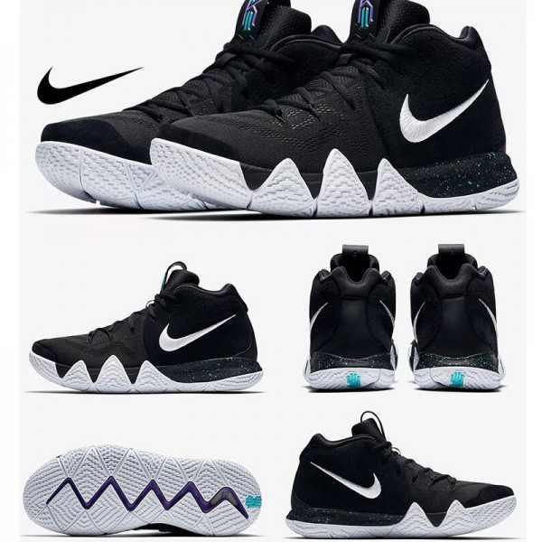 Nike Kyrie 4 黑白_Kyrie Irving球鞋-價格|真假|穿搭|耐吉新款低至 6.9 折起