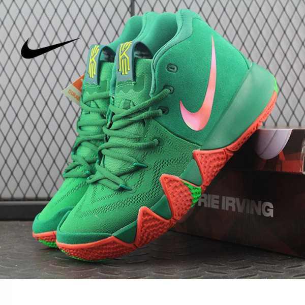 Nike Kyrie 4 綠色_Kyrie 4 鞋評-價格|真假|穿搭|耐吉新款低至 6.9 折起