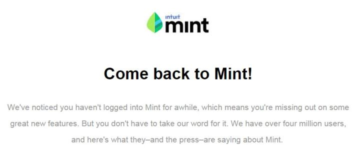 Mint Email